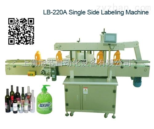 上海洗手液双面透明标贴标机 自动双面贴标机 洗发水贴标机 三面贴