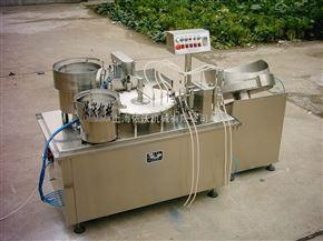 煙油灌裝壓塞旋蓋機