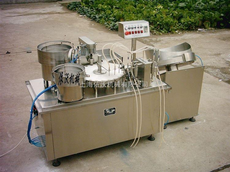 烟油灌装压塞旋盖机