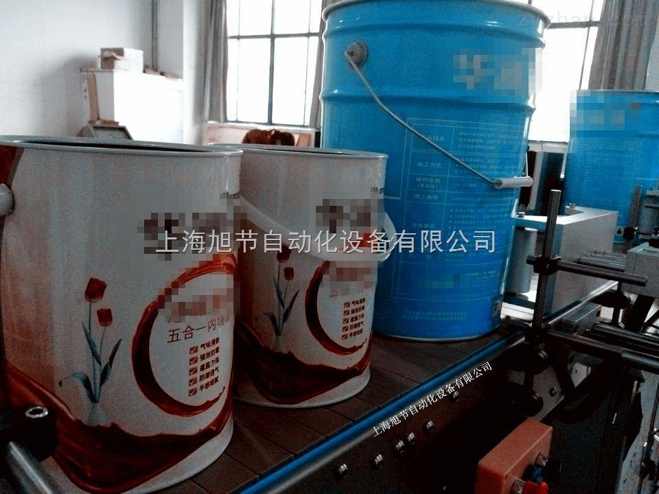 油漆桶贴标机 全自动大圆瓶贴标机