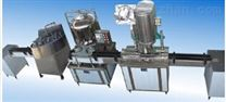 供应G2WG卧式气动双头膏体灌装机 全气动防爆型膏液两用灌装机