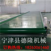 非標定制PVC綠色皮帶輸送機傳送機 流水線平行式輸送機可調高度