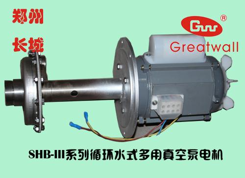 循环水真空泵的电机