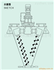 供应SHJ-双螺杆锥型混合机 双螺旋锥形混合机 锥形混合机